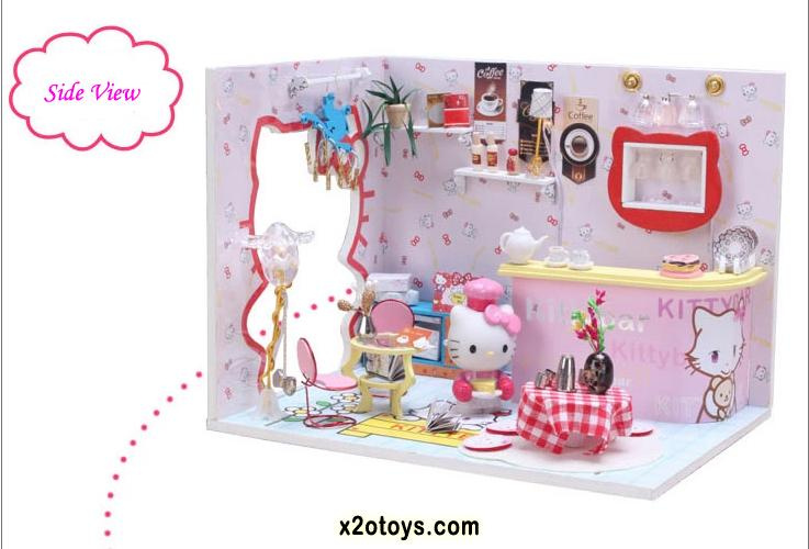 Hello Kitty Diy Miniature Bar Ready Stock X2otoys